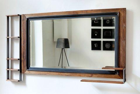 Specchio da bagno alepol unduo